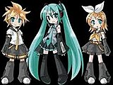 Len, Miku, and Rin. :)